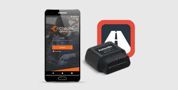 Cordel med ny integrasjon - Elektronisk kjørebok